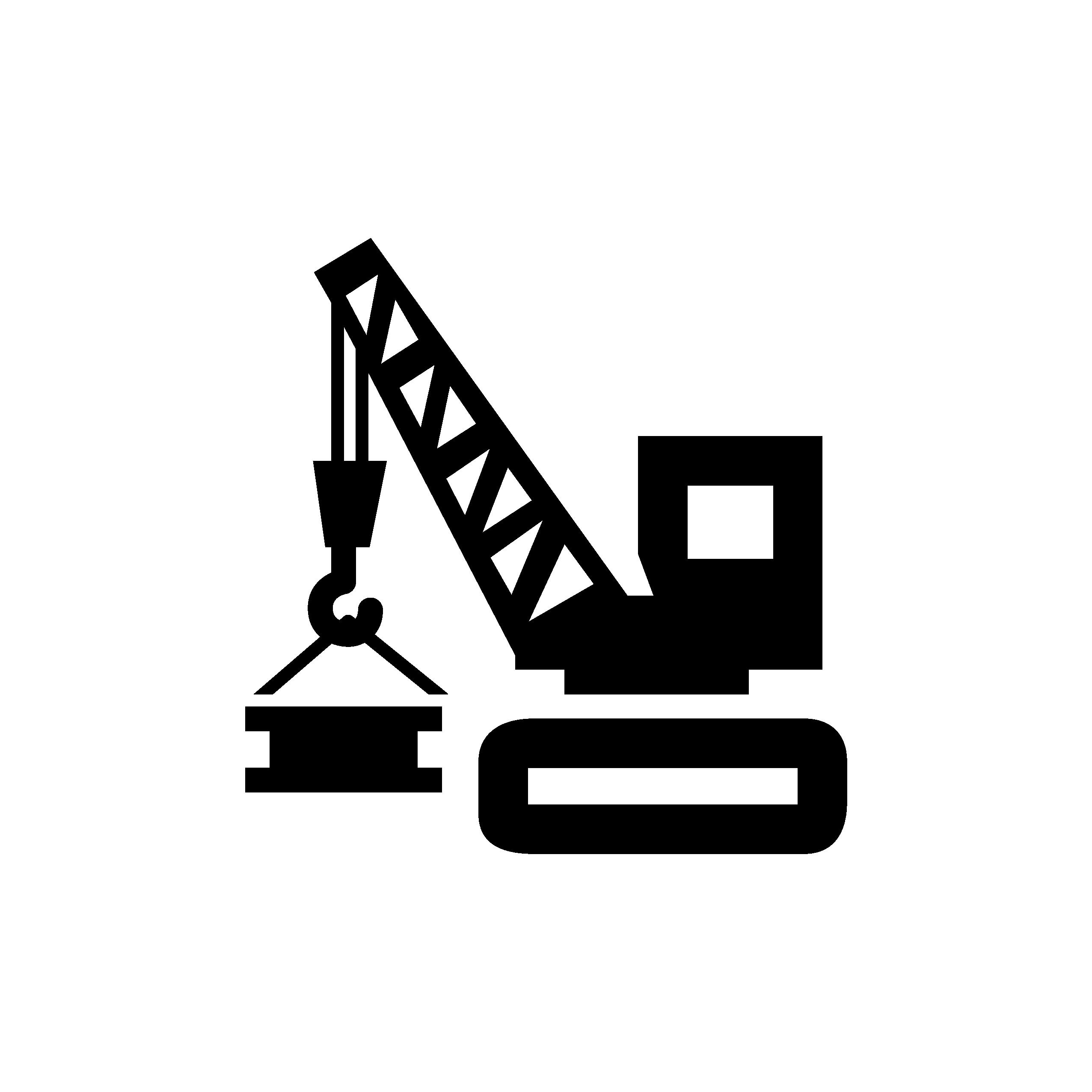 5 MASSIVE CRANES